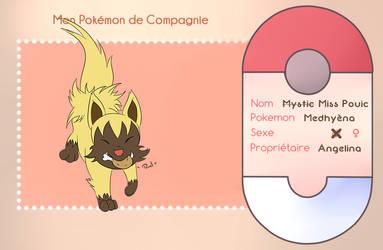 [Zanuelle] Pokemon de compagnie - Angelina by YuOkami