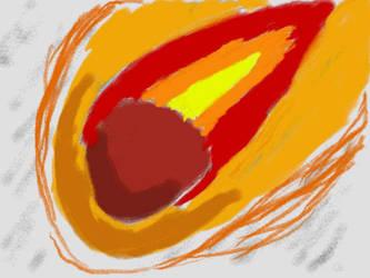 Art Academy: 1st Semester - Meteor by Tom-Otaku