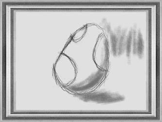 Art Academy: 1st Semester - Yoshi Egg by Tom-Otaku