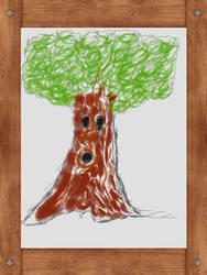 Art Academy - Whispy Woods Painting by Tom-Otaku