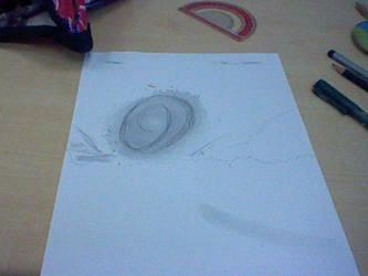 Random Drawing - Spin Dash by Tom-Otaku