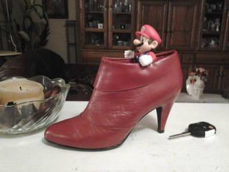 Stiletto Mario in Real Life by Tom-Otaku