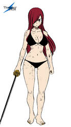 Fairy Tail : Erza Scarlet -SP-24 (Rematch) by thunder1928