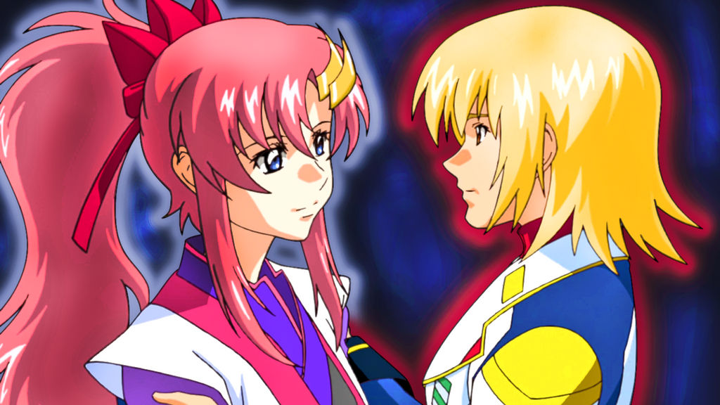 Gundam Seed Destiny : Lacus and Cagalli - 2 by thunder1928