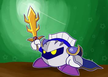 Meta Knight by UltimateYoshi