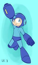 (P) Mega Man by UltimateYoshi