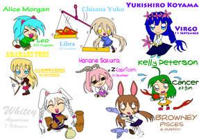 my OCs' birthday by Kagami-Usagi