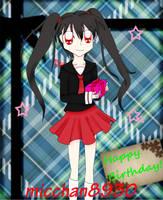 Happy Birthday Micchan8930 by Kagami-Usagi