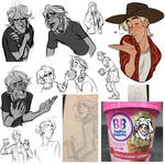 small bobbo sketchdump by soularch