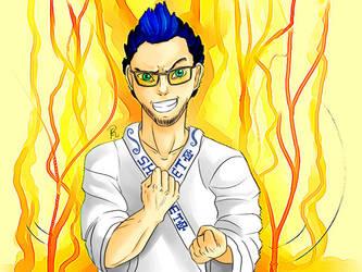 Shanbeto The Karateka Gamer by Clapink