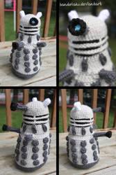 Dalek Amigurumi by MilesofCrochet