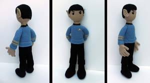 Spock Amigurumi by MilesofCrochet
