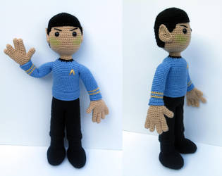 Spock Group by MilesofCrochet