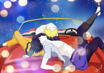 Naruto and Sasuke Utena Parody by TiaAnthy