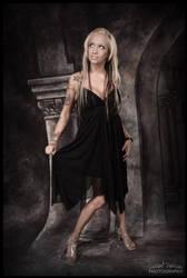 Bianka Does Black Dress Formal by DeviantDesires
