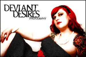 Elyse Does Pin Up Debut by DeviantDesires