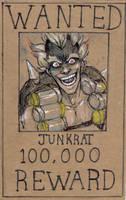 WANTED: JUNKRAT by tsumi-kami
