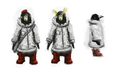 Concept_Penguin Explorers by LoserLunatic