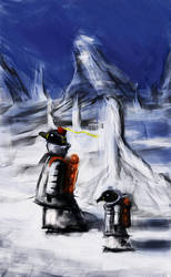 Concept_Arctic Penguins by LoserLunatic