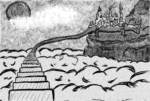 Takydonian City by LoserLunatic