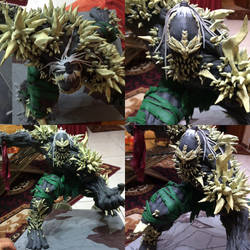 Doomsday! Custom Statue. by kkbrenes