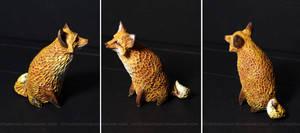 Animals-Stones: Fox by SweetSign