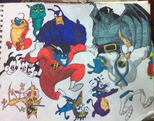 Classic cartoon chaos mark III by DeanSexton