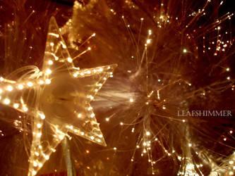 Twinkling lights by leafshimmerphoto