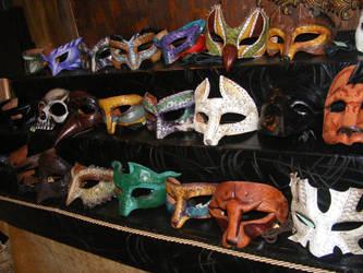 Masks by Bringer-of-Evil