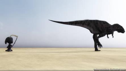 Extinction follows by Lynxander