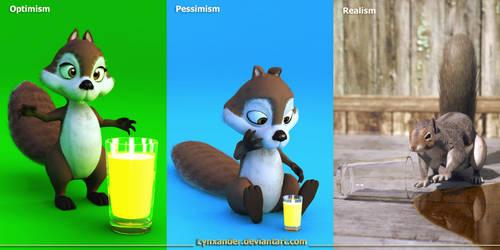 Optimism, Pessimism, Realism by Lynxander