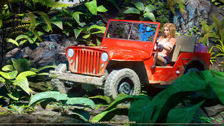 Drive through the jungle by Lynxander