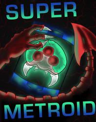 Super Metroid Poster by PracticallyGeeky