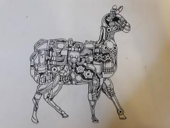 i did a llama one to :3 by ThatMagicPotat