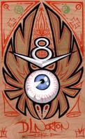 Flying Eyeball by DLNorton