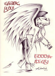 5000 hits on an Angel by DLNorton