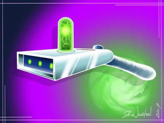 Rick's Portal Gun by DLNorton