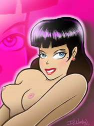 Pink Pin Up by DLNorton