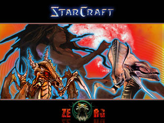 StarCraft Zerg wallpaper by RasPucek