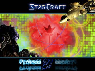StarCraft Protoss wallpaper by RasPucek
