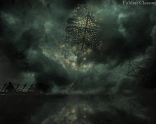 The empyrean citadel by fabianclasson