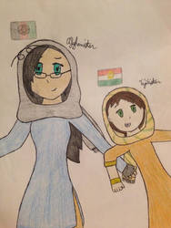 Anni and Tajiki! by MintB-Kirkland