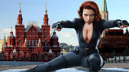 Black Widow Returns Home by Randicus
