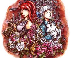Karin and Alice by Jassikorandoms