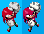 knuckles ending pose fixed by sharpshark