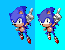 Sonic the hedgehog 3 fixed sprite by sharpshark