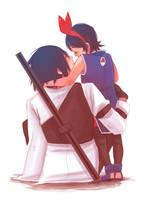 Sasuke Sarada Part2 by Fey-Rayen