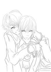 Line art one by Koike-sama