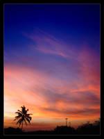 Sky on fire by Crlnh