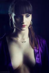 violet by darkelfphoto